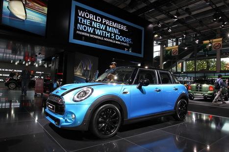 La nouvelle Mini 5 portes au Mondial de l'automobile - L'argus auto | Mini | Scoop.it