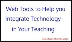 Educational Technology and Mobile Learning: Educational Web Tools to Help Your Better Integrate Technology in Your Teaching | Educational Technology TechDivaAshlee | Scoop.it