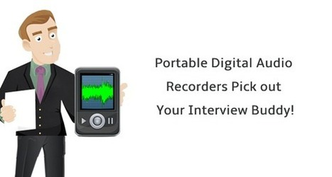 Portable Digital Audio Recorders – Pick-out Your Interview Buddy! | Audio recording apps | Scoop.it