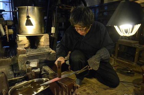 Sasuke, l'art de la forge - Asialyst | Merveilles - Marvels | Scoop.it