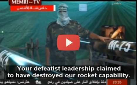 WATCH: Hamas Gives a Glimpse into Home-Grown Rocket Production in Gaza | Politics and Business | Scoop.it