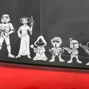 Stickers de Star Wars para auto para familias Geek | Vulbus Incognita Magazine | Scoop.it