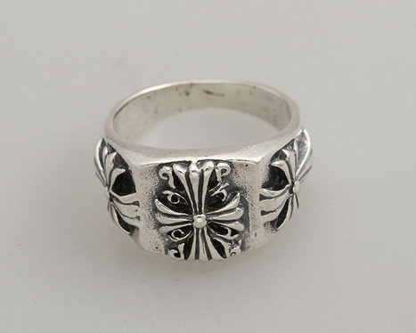 Cheap 925 Silver Chrome Hearts Rings with Three Crosses Shop Online [Chrome Hearts Ring] - $269.00 : Cheap Chrome Hearts, Chrome Hearts Online Shop | Boutique | Scoop.it