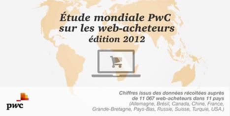 Le e-commerce mondial et les web-acheteurs en 2012 - Polynet, le blog | Infographie & data visualisation | Scoop.it