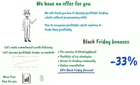 StrategyQuant Black Friday - 33% Off All Prices   Forex Robots   Scoop.it
