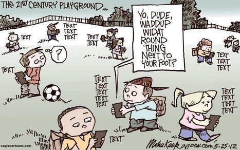 21st Century Playground by Editorial Cartoonist Mike Keefe | early childhood education and more | Scoop.it