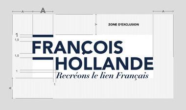 Réalisation de l'identité visuelle de la campagne de François HOLLANDE par Baptiste FLUZIN | Identité des marques | Scoop.it