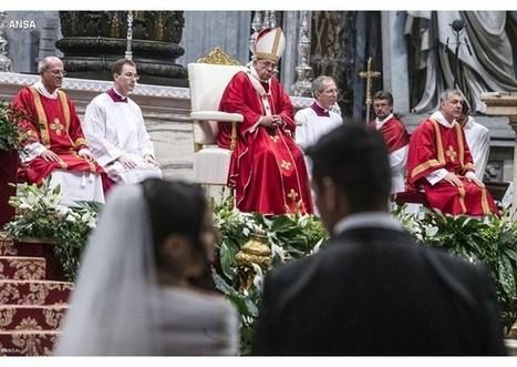 Svätý Otec na Twitteri povzbudzuje mladých: Nemajte strach z manželstva | Správy Výveska | Scoop.it
