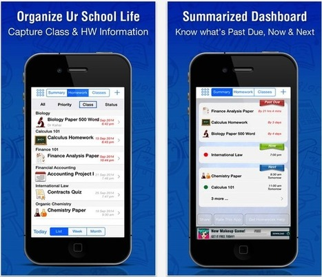 iPad Apps to Help Students with Their Homework and Class Management | Communications | Scoop.it