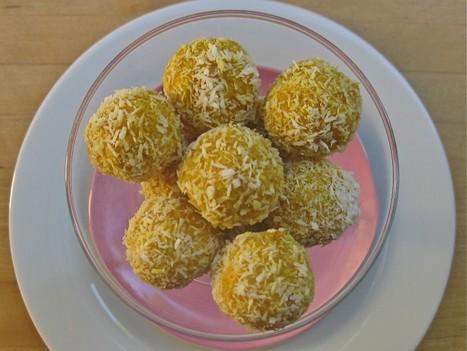 No Bake Coconut Mango Balls | Vegetarian and Vegan | Scoop.it