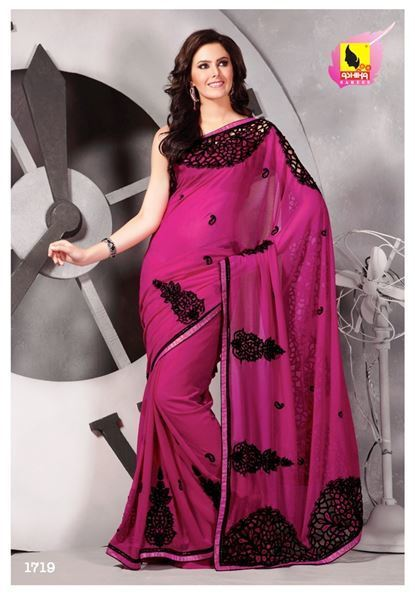 Designer party wear saree online. Grab it. | Indian Women Clothing | Scoop.it