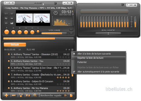 AIMP3 - lecteur audio   Chroniques libelluliennes   Scoop.it