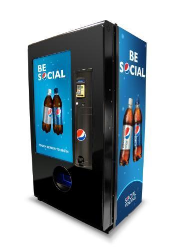 "Pepsi Introduces ""Social Vending Machine"" | The Blog Herald | ""latest technology news"" | Scoop.it"