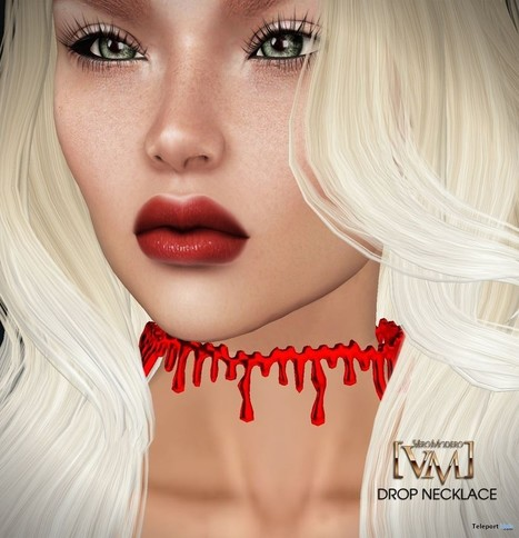 Blood Drop Choker Unisex Group Gift by Vero Modero | Teleport Hub - Second Life Freebies | Second Life Freebies | Scoop.it