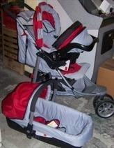 poussette 3 roues bon etat avec cosy et nacel - Poussettes - Promenade - ENTRE-Parents.fr   Femmes enceintes, Grossesse, entraide entre mamans et futurs mamans !   Scoop.it