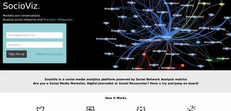Startup Calabria » SocioViz: un nuovo tool per la social network analysis | SNA - Social Network Analysis ... and more. | Scoop.it