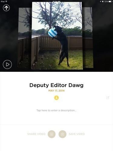 iPad App of the Week: Animoto Video Maker | iPad Insight | Technology in Education | Scoop.it