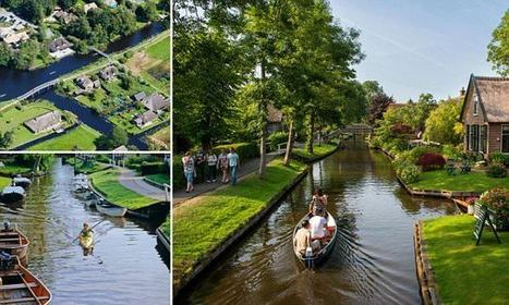 The fairytale Dutch village that exists without roads or cars | Architecture, Design & Innovation | Scoop.it
