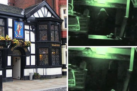 Watch chilling footage of 'ghost' caught on CCTV at one of UK's oldest pubs - Mirror.co.uk | E.A.P.I. | Scoop.it