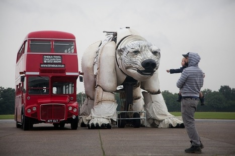 MASSIVE Polar Bear to Descend on London Tomorrow Sunday 15th September   Underrepresented and Self-Taught Artists Find Support on the Web   Scoop.it