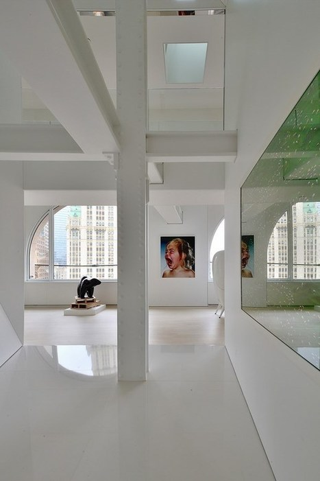 Artistic penthouse with fun interior | Sharing news from the world of interior design | Scoop.it