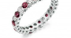 ruby and diamond eternity ring | Engagement Rings Dublin. | Scoop.it