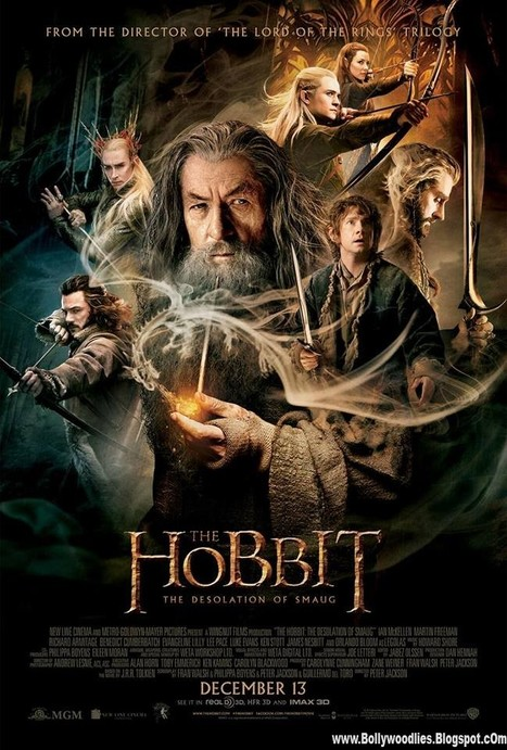 The Hobbit: Desolation of Smaug Movie Official Poster First Look   bollywoodfunia.com   Scoop.it