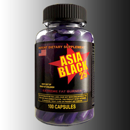 Review of Asia Black 25 with Ephedra Fat Burner Results & Side Effects | Ephedra Sinica Diet Pills | Scoop.it