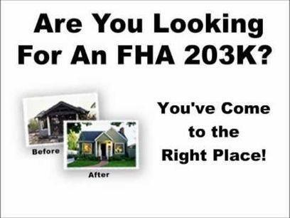 Best FHA 203k Loan in California | Joe Knows Loans | Scoop.it