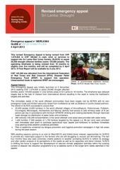 Sri Lanka: Sri Lanka: Drought Revised Emergency Appeal n° MDRLK004 | The Same Heart - Official Development Assistance | Scoop.it