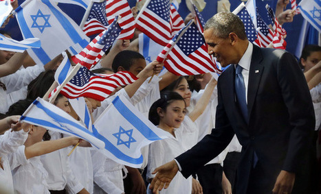 Obama's Real Reason For Visiting Israel - Al-Monitor: the Pulse of the Middle East | Geography 400 Articles | Scoop.it