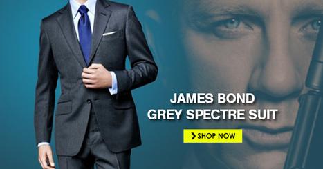 James Bond Grey Spectre Suit | celebrities suits | Scoop.it