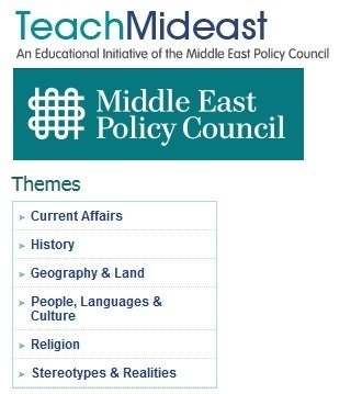Teach Mideast | Geography Education | Scoop.it