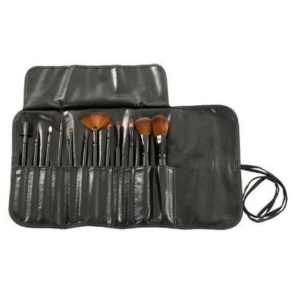 MASH 12pc Studio Pro Makeup Make Up Cosmetic Brush Set Kit w/ Leather Case – For Eye Shadow, Blush, Concealer, Etc | Online Makeup Store | Scoop.it