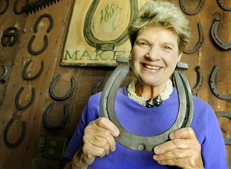 Former Debutante, Ada Gates Patton, makes career shoeing Rose Parade horses!   Horse and Rider Awareness   Scoop.it