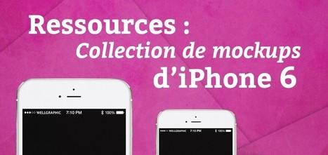 Ressources : Collection de mockups d'iPhone 6 - Blog du MMI | Resources & Tutorials | Scoop.it