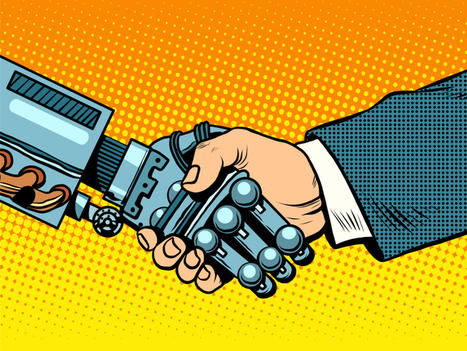 Robots add real value when working with humans, not replacing them | Post-Sapiens, les êtres technologiques | Scoop.it