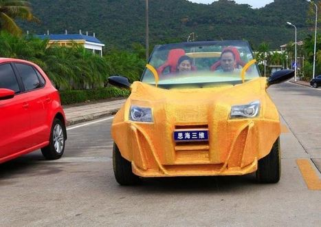 Chinese Company 3D Prints a Full-size Working Car for Just $1770 | Inventions and innovations that change the world; Curiosity, knowledge, educational articles; learning opportunities... | Scoop.it