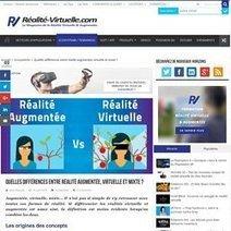 Réalité virtuelle, augmentée et simulation | Technologie Éducative | Scoop.it