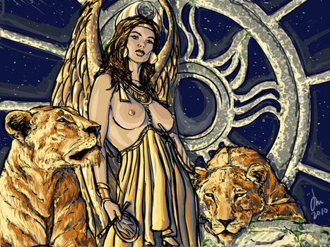 Ancient Mesopotamian Gods and Goddesses - Inana/Ištar (goddess) | Mitologia | Scoop.it