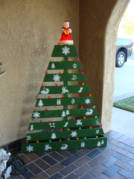 Pallet Christmas Tree | Mipygreen | Scoop.it