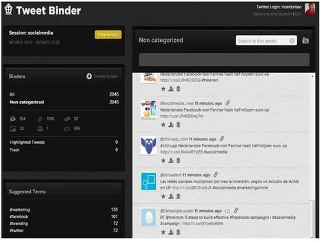 Tweet Binder; Herramienta de medición y curación de contenido en Twitter | Yo Community Manager | Scoop.it
