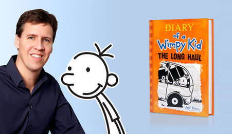 """""""Wimpy Kid"""" Author's 6 Tips to Hook Reluctant Readers 