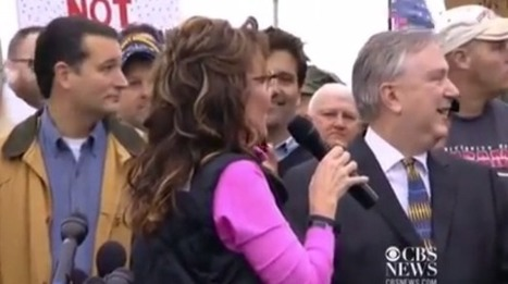 Watch heckler call Sarah Palin an idiot as she decries use of vets as political pawns | Daily Crew | Scoop.it