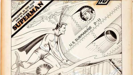 Vroegste Superman-cover gaat onder de hamer   literatuuractua Alessandro   Scoop.it