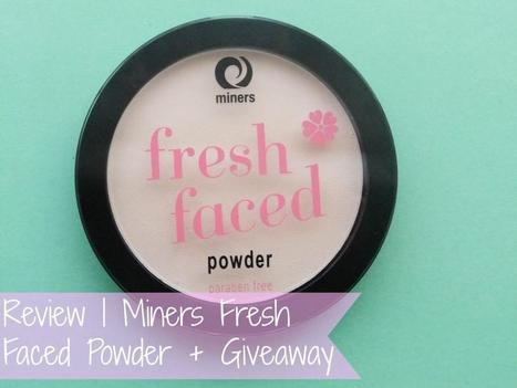 Raspberrykiss | UK Beauty Blog: Review | Miners Fresh Faced Powder + Giveaway | Beauty | Scoop.it