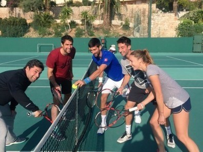 Insolite: Petite pause pour Cornet, Chardy et Djokovic | Tennis | Scoop.it