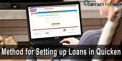 Easy Method for Setting up Loans in Quicken | Costomer Support and Services | Scoop.it