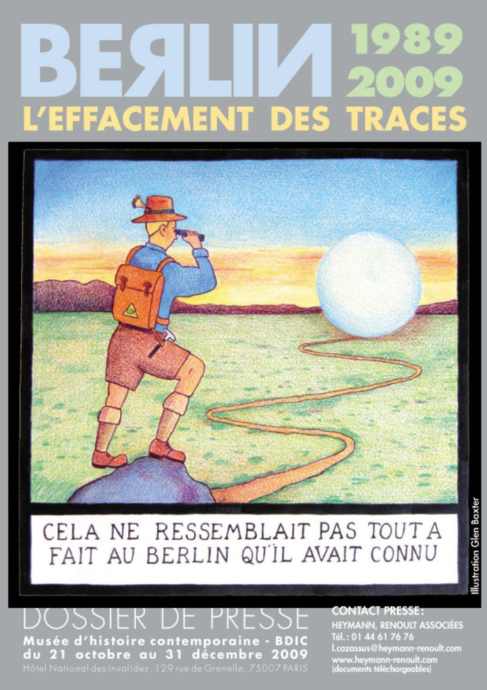 L'effacement des traces à Berlin - Retour à une exposition | Hallo France,  Hallo Deutschland     !!!! | Scoop.it