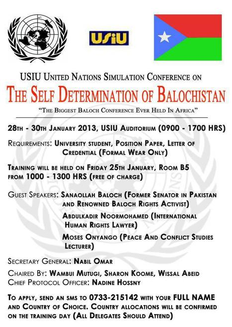 The Self Determination of Balochistan Conference   Human Rights and the Will to be free   Scoop.it